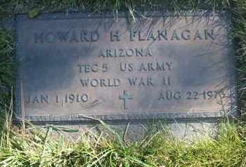 FLANAGAN, HOWARD H. - Coconino County, Arizona | HOWARD H. FLANAGAN - Arizona Gravestone Photos