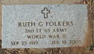 FOLKERS, RUTH G. - Coconino County, Arizona | RUTH G. FOLKERS - Arizona Gravestone Photos