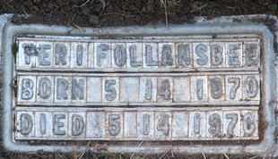 FOLLANSBEE, PERI - Coconino County, Arizona | PERI FOLLANSBEE - Arizona Gravestone Photos