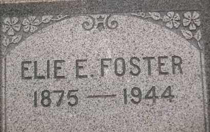FOSTER, ELIE E. - Coconino County, Arizona | ELIE E. FOSTER - Arizona Gravestone Photos