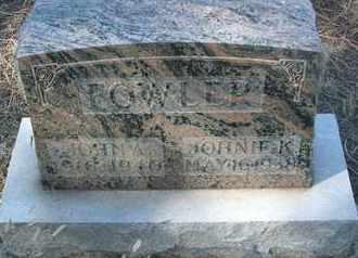 FOWLER, JOHN A. - Coconino County, Arizona | JOHN A. FOWLER - Arizona Gravestone Photos