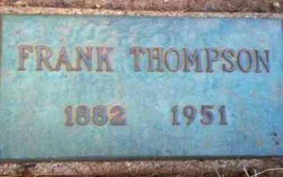 THOMPSON, FRANK - Coconino County, Arizona | FRANK THOMPSON - Arizona Gravestone Photos
