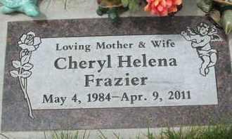 FRAZIER, CHERYL HELENA - Coconino County, Arizona | CHERYL HELENA FRAZIER - Arizona Gravestone Photos