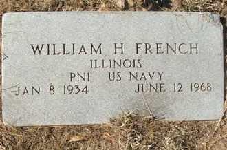 FRENCH, WILLIAM H. - Coconino County, Arizona   WILLIAM H. FRENCH - Arizona Gravestone Photos