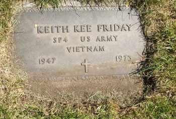 FRIDAY, KEITH KEE - Coconino County, Arizona | KEITH KEE FRIDAY - Arizona Gravestone Photos