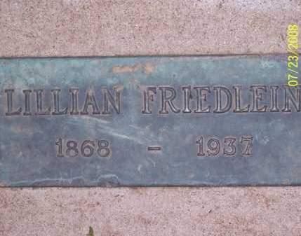 FRIEDLEIN, LILLIAN - Coconino County, Arizona | LILLIAN FRIEDLEIN - Arizona Gravestone Photos