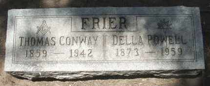 POWELL FRIER, DELLA - Coconino County, Arizona | DELLA POWELL FRIER - Arizona Gravestone Photos