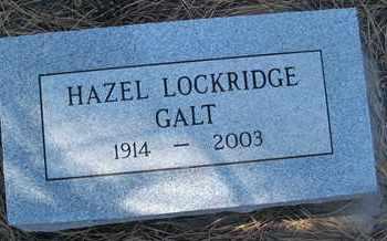 GALT, HAZEL - Coconino County, Arizona | HAZEL GALT - Arizona Gravestone Photos