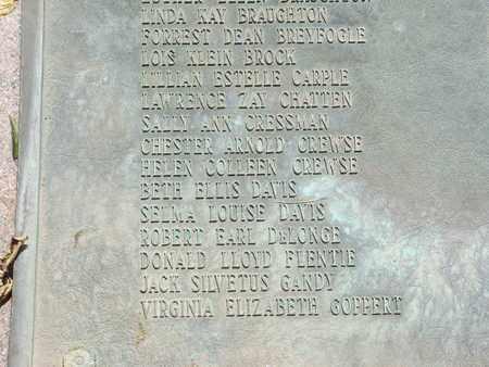 GANDY, JACK SILVETUS - Coconino County, Arizona   JACK SILVETUS GANDY - Arizona Gravestone Photos