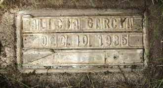 GARCIA, ALICIA - Coconino County, Arizona   ALICIA GARCIA - Arizona Gravestone Photos