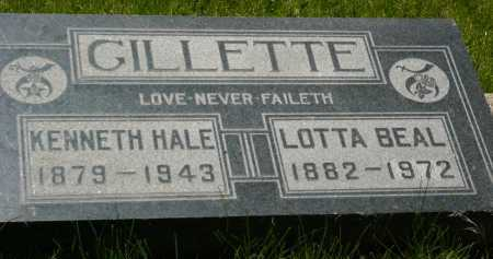 GILLETTE, KENNETH HALE - Coconino County, Arizona | KENNETH HALE GILLETTE - Arizona Gravestone Photos