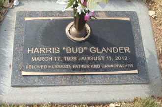 """GLANDER, HARRIS """"BUD"""" - Coconino County, Arizona   HARRIS """"BUD"""" GLANDER - Arizona Gravestone Photos"""