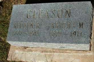 GLEASON, REUBEN R. - Coconino County, Arizona | REUBEN R. GLEASON - Arizona Gravestone Photos