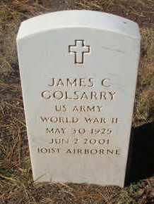 GOLSARRY, JAMES C. - Coconino County, Arizona | JAMES C. GOLSARRY - Arizona Gravestone Photos
