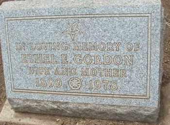 GORDON, ETHEL E. - Coconino County, Arizona | ETHEL E. GORDON - Arizona Gravestone Photos