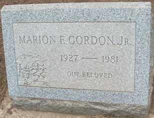 GORDON, MARION F., JR - Coconino County, Arizona | MARION F., JR GORDON - Arizona Gravestone Photos