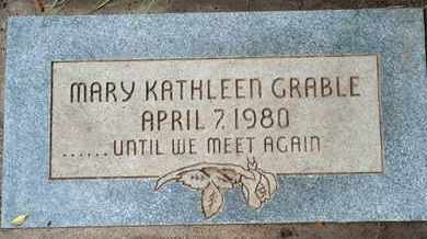 GRABLE, MARY KATHLEEN - Coconino County, Arizona | MARY KATHLEEN GRABLE - Arizona Gravestone Photos