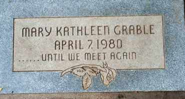 GRABLE, MARY KATHLEEN - Coconino County, Arizona | MARY KATHLEEN GRABLE - Arizona Gravestone Photos