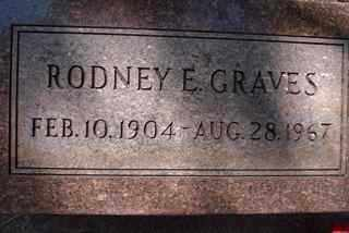 GRAVES, RODNEY - Coconino County, Arizona | RODNEY GRAVES - Arizona Gravestone Photos