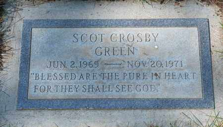 GREEN, SCOT CROSBY - Coconino County, Arizona | SCOT CROSBY GREEN - Arizona Gravestone Photos