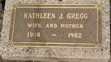 GREGG, KATHLEEN J. - Coconino County, Arizona   KATHLEEN J. GREGG - Arizona Gravestone Photos