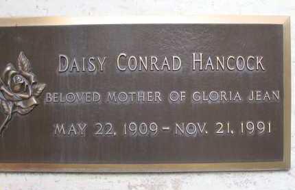 HANCOCK, DAISY CONRAD - Coconino County, Arizona | DAISY CONRAD HANCOCK - Arizona Gravestone Photos