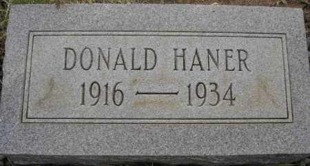 HANER, DONALD - Coconino County, Arizona | DONALD HANER - Arizona Gravestone Photos