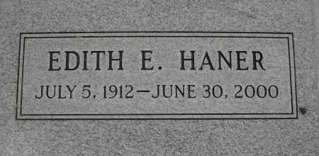 HANER, EDITH E. - Coconino County, Arizona | EDITH E. HANER - Arizona Gravestone Photos