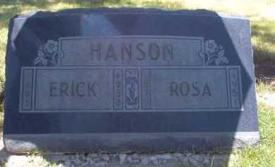 HANSON, ROSA - Coconino County, Arizona | ROSA HANSON - Arizona Gravestone Photos
