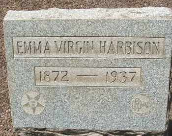 HARBISON, EMMA VIRGIN - Coconino County, Arizona   EMMA VIRGIN HARBISON - Arizona Gravestone Photos