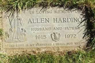 HARDING, ALLEN - Coconino County, Arizona   ALLEN HARDING - Arizona Gravestone Photos