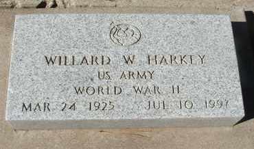 HARKEY, WILLARD W. - Coconino County, Arizona | WILLARD W. HARKEY - Arizona Gravestone Photos