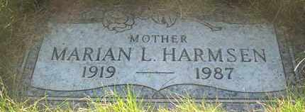 HARMSEN, MARIAN L. - Coconino County, Arizona | MARIAN L. HARMSEN - Arizona Gravestone Photos