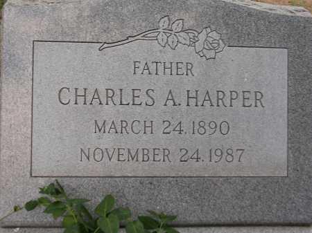 HARPER, CHARLES A. - Coconino County, Arizona | CHARLES A. HARPER - Arizona Gravestone Photos