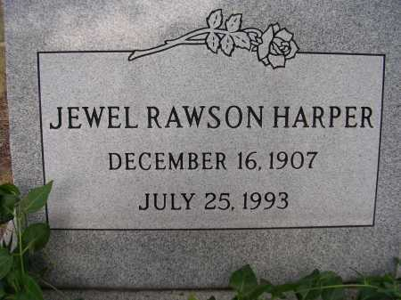 HARPER, JEWEL RAWSON - Coconino County, Arizona | JEWEL RAWSON HARPER - Arizona Gravestone Photos