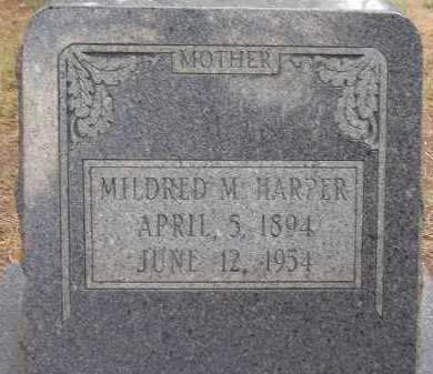 HARPER, MILDRED M. - Coconino County, Arizona | MILDRED M. HARPER - Arizona Gravestone Photos