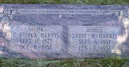 HARRIS, SADIE M. - Coconino County, Arizona | SADIE M. HARRIS - Arizona Gravestone Photos