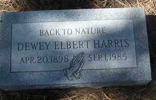 HARRIS, DEWEY ELBERT - Coconino County, Arizona | DEWEY ELBERT HARRIS - Arizona Gravestone Photos