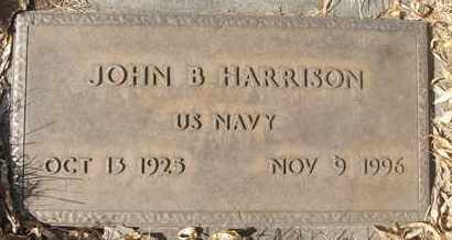 HARRISON, JOHN B. - Coconino County, Arizona | JOHN B. HARRISON - Arizona Gravestone Photos