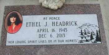 HEADRICK, ETHEL J. - Coconino County, Arizona | ETHEL J. HEADRICK - Arizona Gravestone Photos