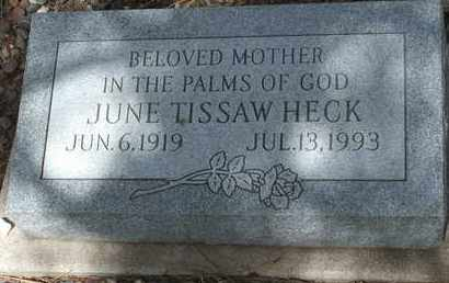 HECK, JUNE - Coconino County, Arizona | JUNE HECK - Arizona Gravestone Photos