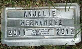 HERNANDEZ, ANJALIE - Coconino County, Arizona | ANJALIE HERNANDEZ - Arizona Gravestone Photos