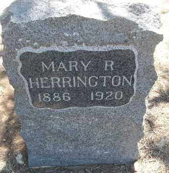 HERRINGTON, MARY R. - Coconino County, Arizona | MARY R. HERRINGTON - Arizona Gravestone Photos