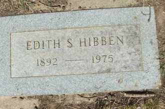 HIBBEN, EDITH S - Coconino County, Arizona | EDITH S HIBBEN - Arizona Gravestone Photos