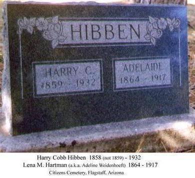 HIBBEN, HARRY - Coconino County, Arizona | HARRY HIBBEN - Arizona Gravestone Photos
