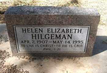 HILGEMAN, HELEN ELIZABETH - Coconino County, Arizona   HELEN ELIZABETH HILGEMAN - Arizona Gravestone Photos