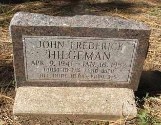 HILGEMAN, JOHN FREDERICK - Coconino County, Arizona | JOHN FREDERICK HILGEMAN - Arizona Gravestone Photos
