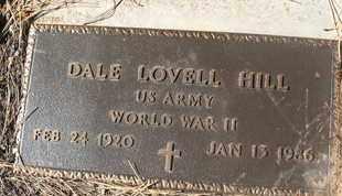 HILL, DALE LOVELL - Coconino County, Arizona | DALE LOVELL HILL - Arizona Gravestone Photos