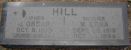 HILL, W. EDNA - Coconino County, Arizona | W. EDNA HILL - Arizona Gravestone Photos