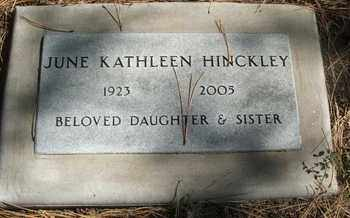 HINCKLEY, JUNE KATHLEEN - Coconino County, Arizona | JUNE KATHLEEN HINCKLEY - Arizona Gravestone Photos